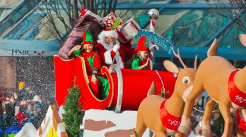 Rogers Santa Claus Parade/ Facebook