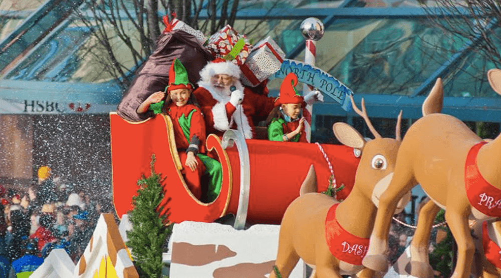 Come see St. Nick at the Rogers Vancouver Santa Claus Parade 2016