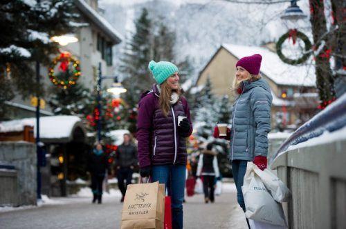 Shopping in Whistler Village