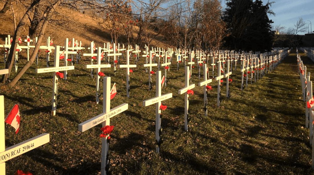 Thousands gathered around Calgary to honour the brave at Remembrance Day ceremonies (PHOTOS)