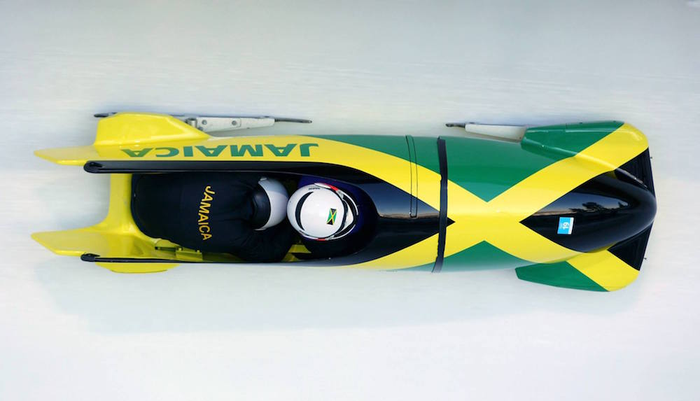 Jamaican bobsled fb