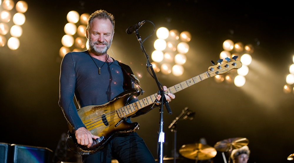 Sting is coming back to Toronto in the spring