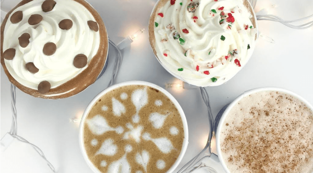 Blenz holiday drinks
