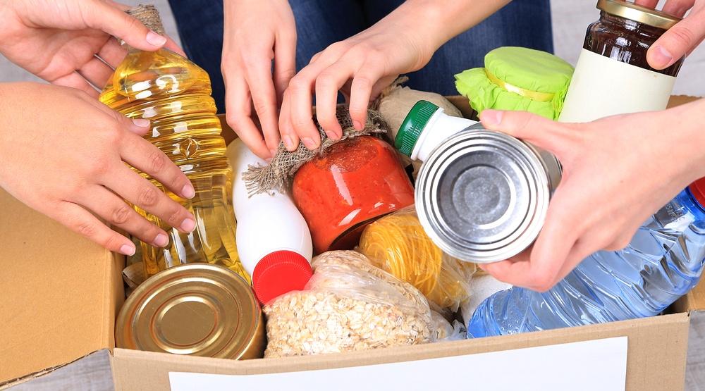 Food bank donations (Africa Studio/Shutterstock)