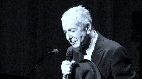 There is a Leonard Cohen tribute concert and sing-along tomorrow night in Toronto