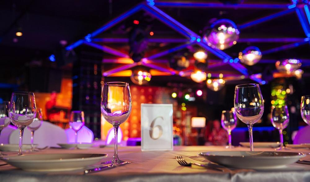 Dinner in the dark gala
