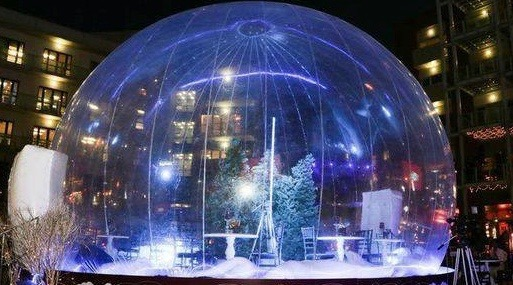 The Toronto Christmas Market will have a free life-size snow globe