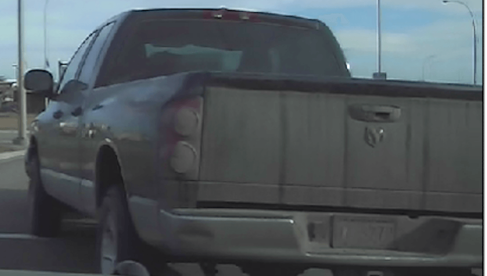 Calgary Police looking for a suspicious truck with visibly upset young girl inside