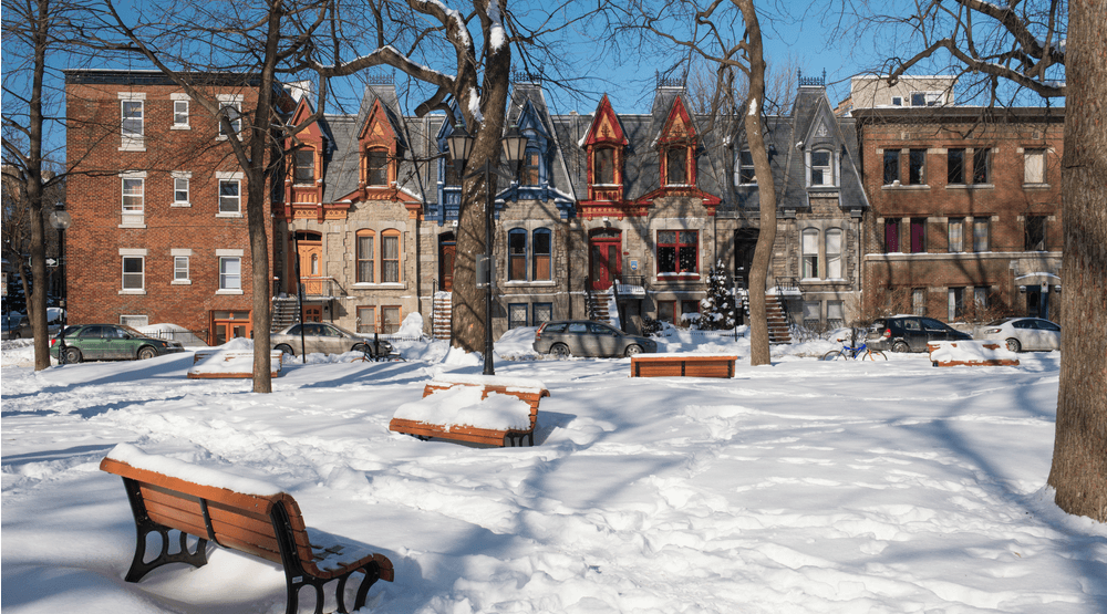 It will snow in Montreal next week