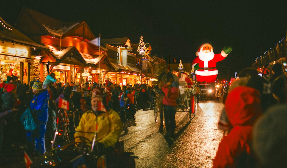 See St. Nick at the Banff Santa Claus Parade of Lights 2016