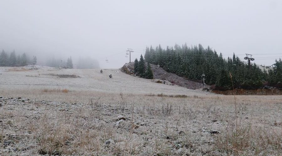 First flakes fly at Cypress Mountain Resort (PHOTO)