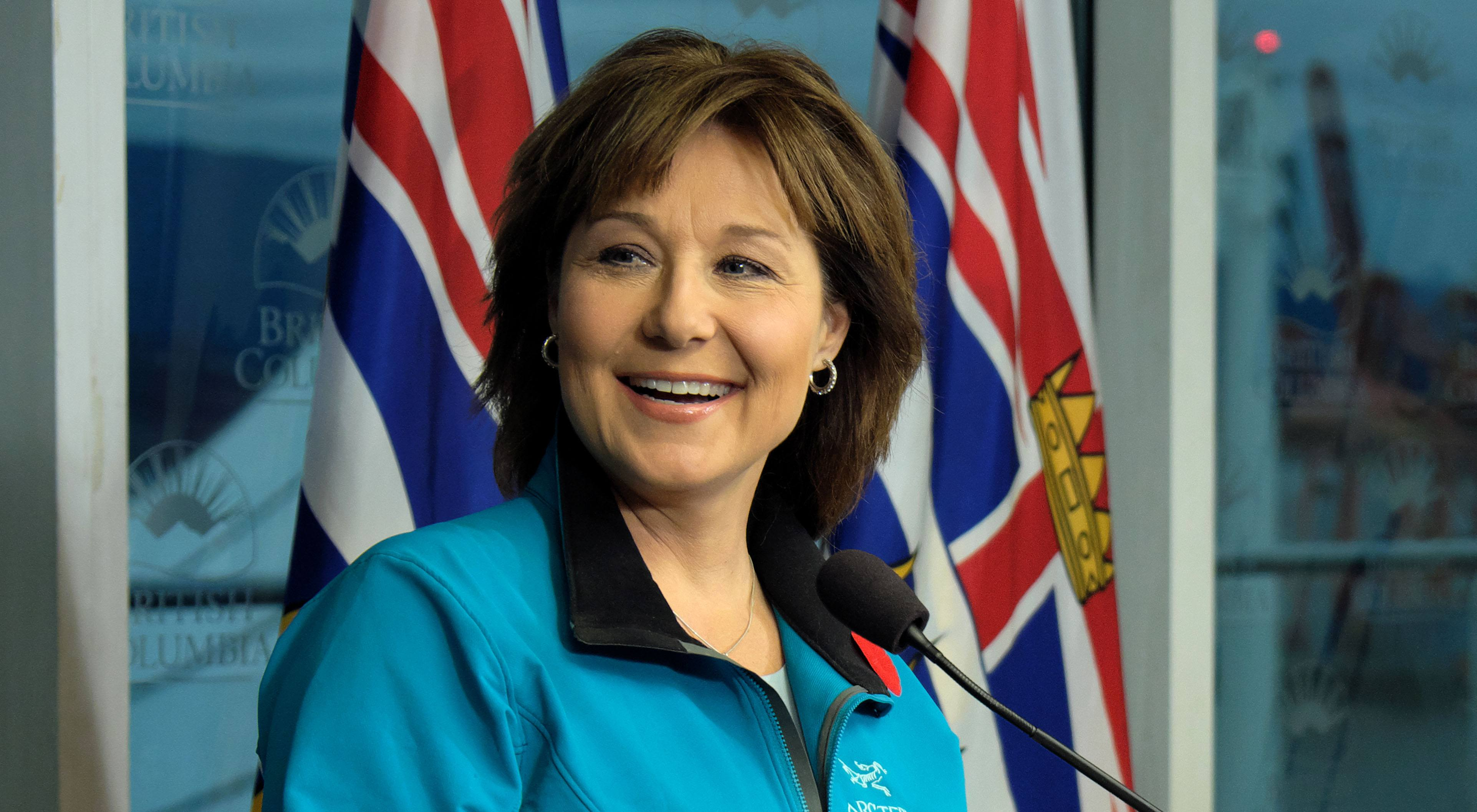 Bc premier christy clark province of bc flickr