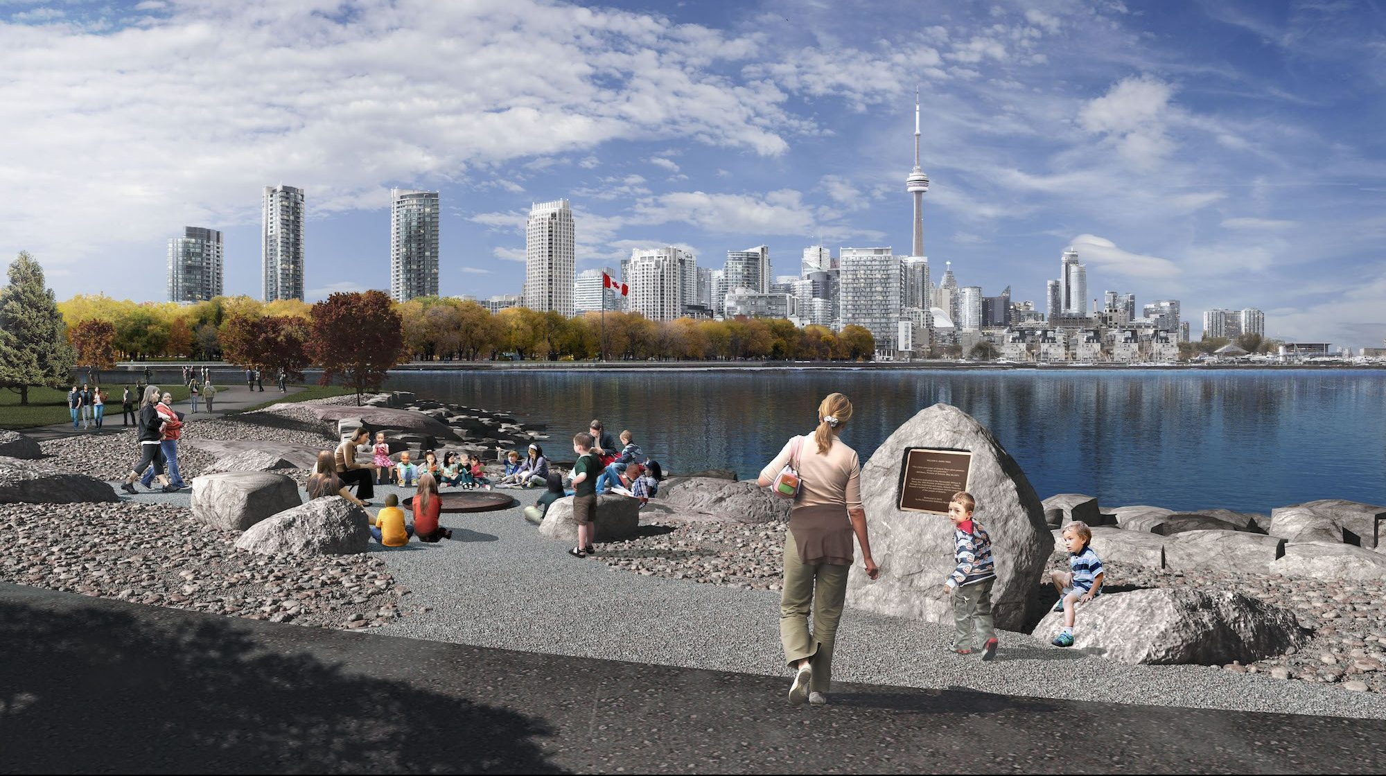 Ontario Place is getting turned into an amazing new urban park (IMAGES)