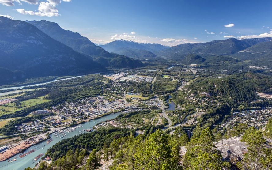 Squamish named top BC city to work in 2017