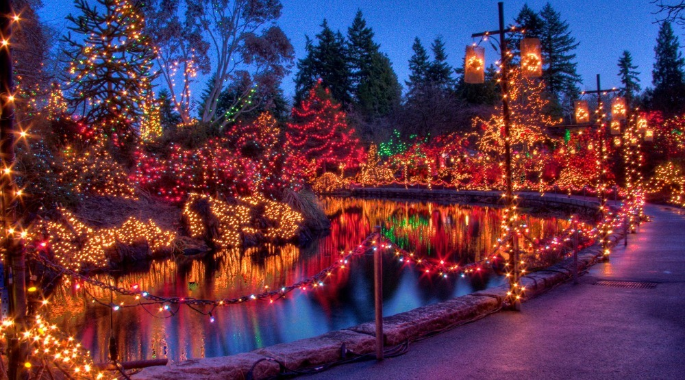 The Festival of Lights at VanDusen Garden (VanDusen Gardens/Facebook) - 32 Festive Places To See Christmas Lights In Metro Vancouver Daily