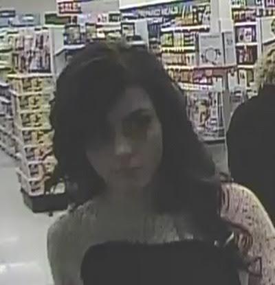 Shoppers Drug Mart suspect/ Langley RCMP