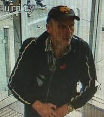Shopper's Drug Mart suspect/ Langley RCMP