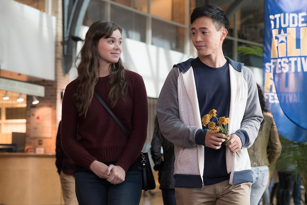 Hailee Steinfeld as Nadine in The Edge of Seventeen