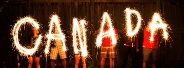 Canada sparklers