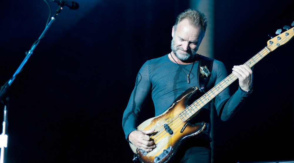 Sting is playing an intimate concert in Montreal in 2017