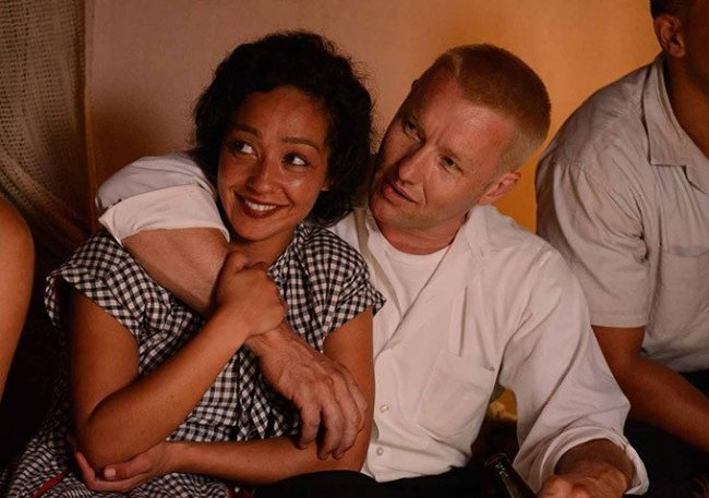 Image: Joel Edgerton and Ruth Negga in Loving. Image: Universal Pictures
