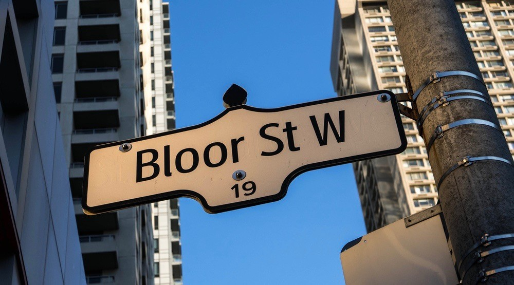Bloor named 6th most expensive street in the Americas