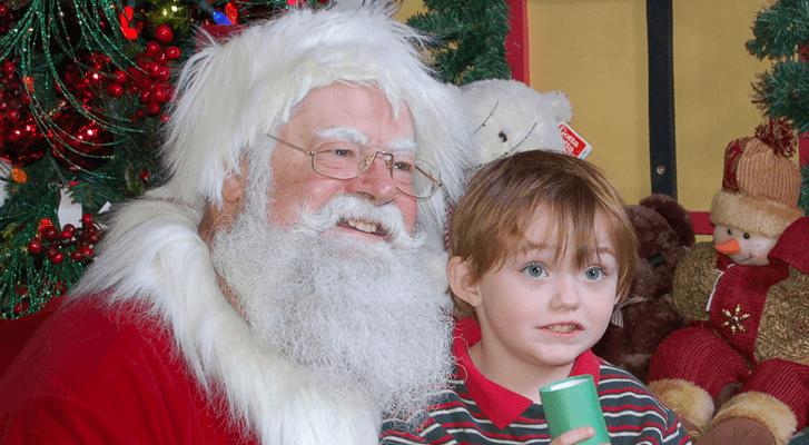 Christmas Store at Potters welcomes Santa to Surrey this November