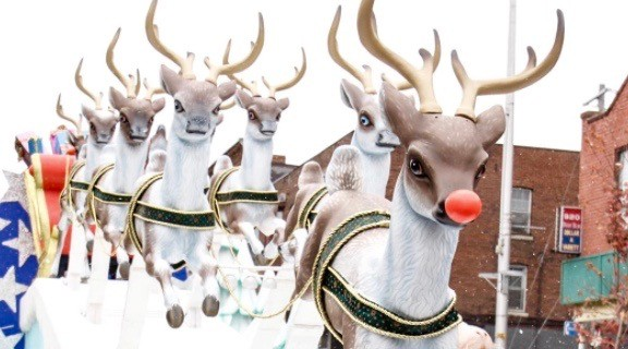 17 photos from Toronto's 112th Santa Claus parade