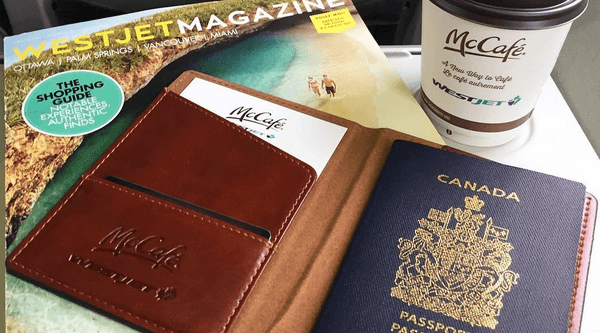 You can now get McDonald's McCafe coffee on WestJet flights