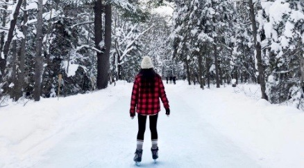 The 1.3 km outdoor skating trail near Toronto you have to visit this year (PHOTOS)