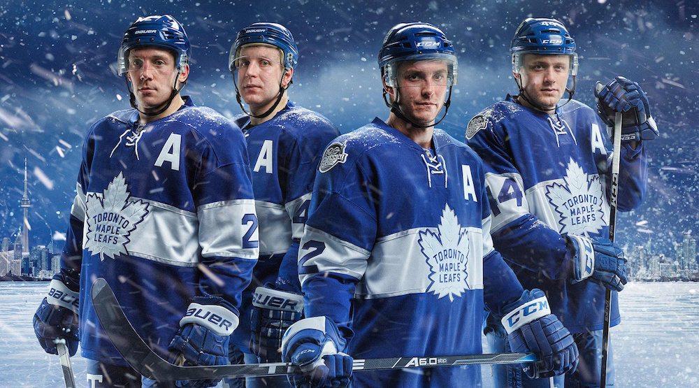 Leafs centennial classic jerseys