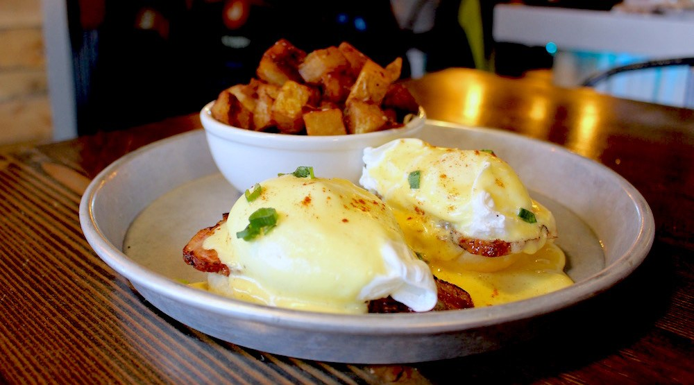 Copper coil squamish eggs benny