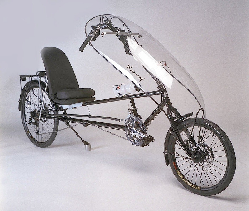 A recumbent bicycle (Cambie Cycles)