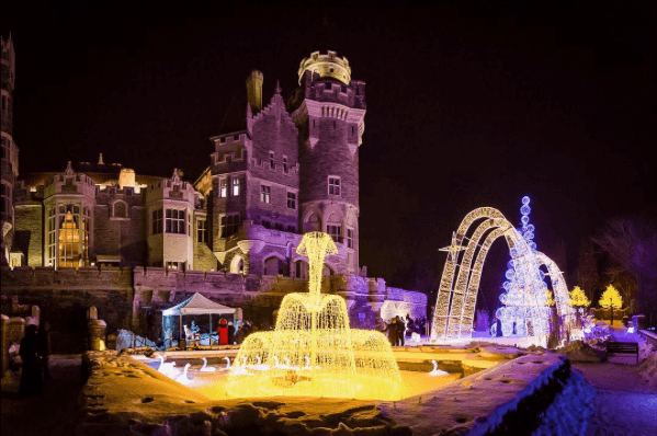 Casa Loma is about to become the holiday castle of your dreams
