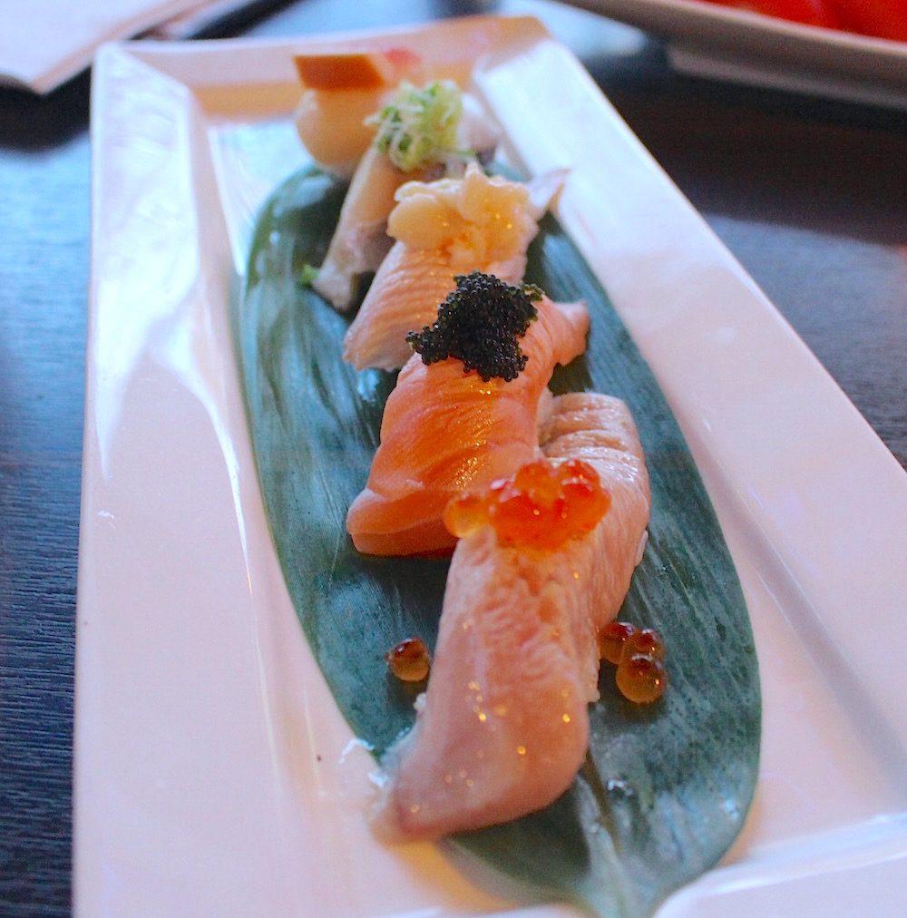 Sushi at Ebisu on Robson (Lindsay William-Ross)