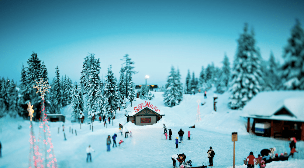 Grouse Mountain's Peak of Christmas opening day, hours