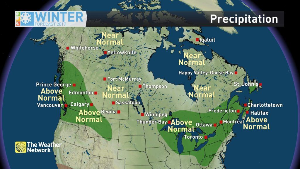 Canada Winter Forecast