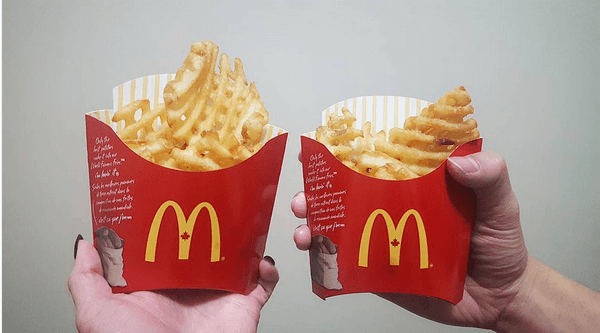 McDonald's Canada just introduced waffle fries