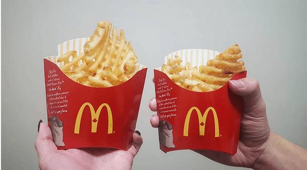 Mcdonalds waffle fries