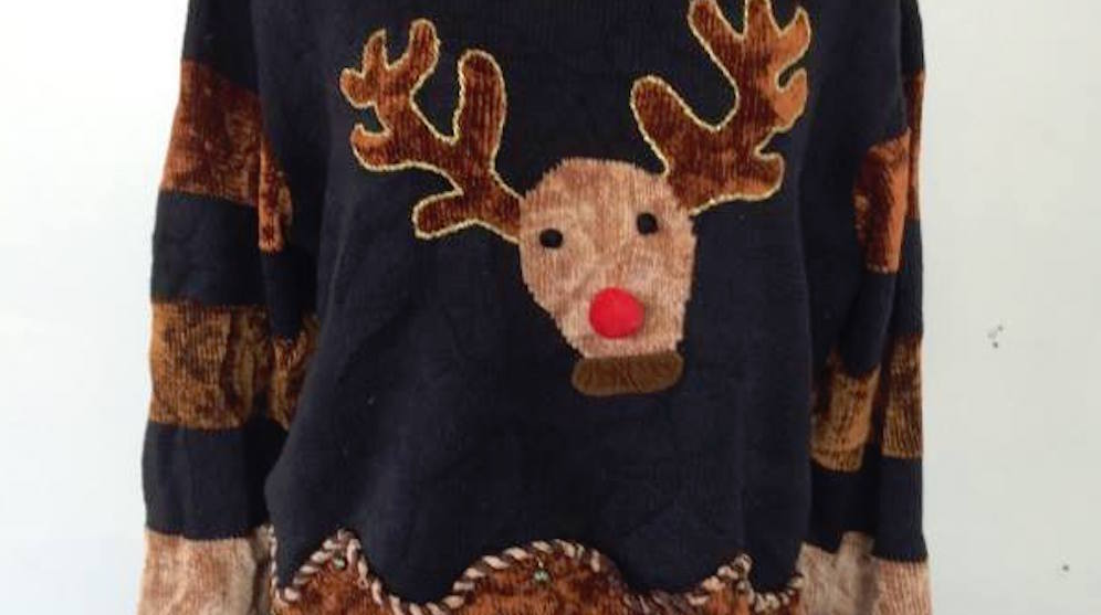 The rocket ugly sweater