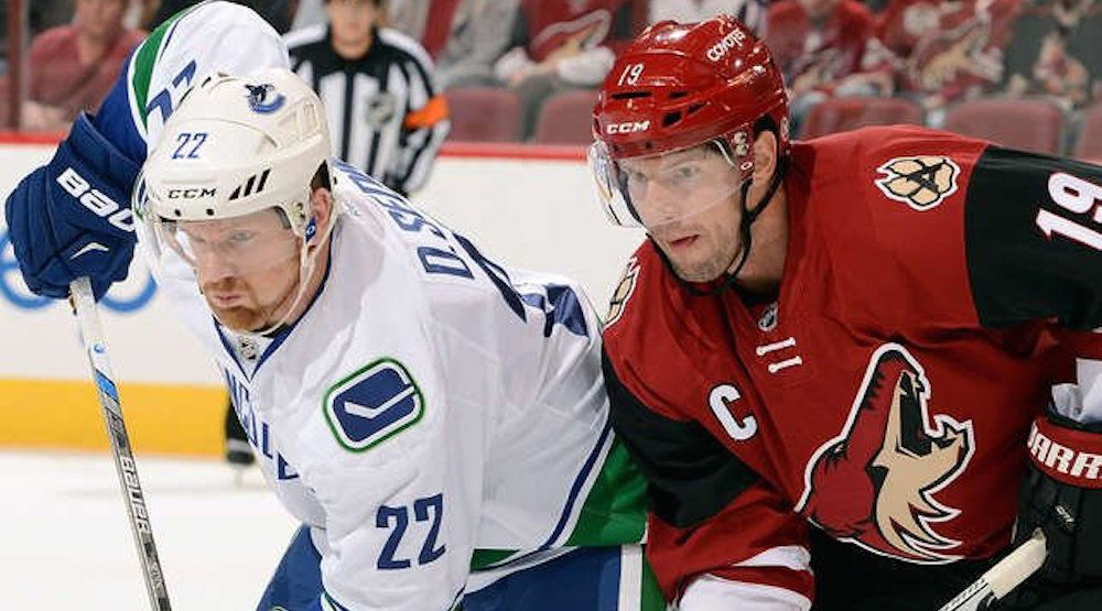 Tonight's Canucks-Coyotes game is a must-lose for both teams