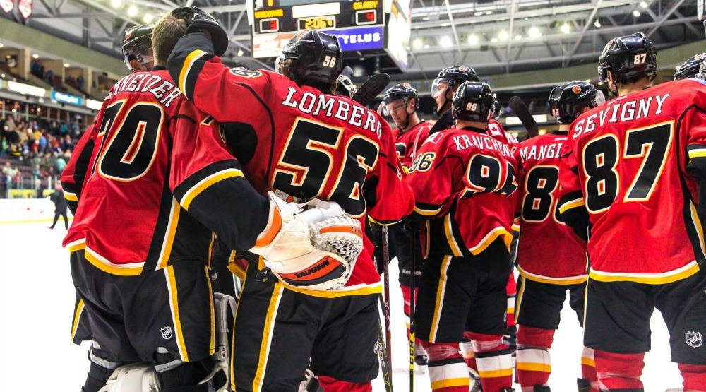 Watch the Calgary Flames compete in a SuperSkills competition (CONTEST)