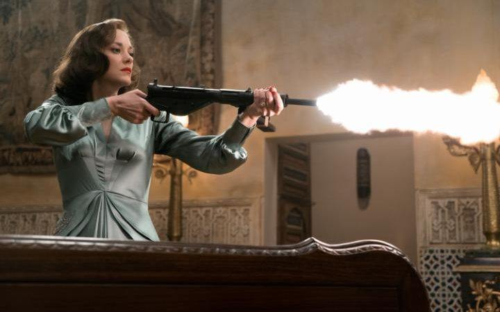 Marion Cotillard in Allied (Paramount Pictures)