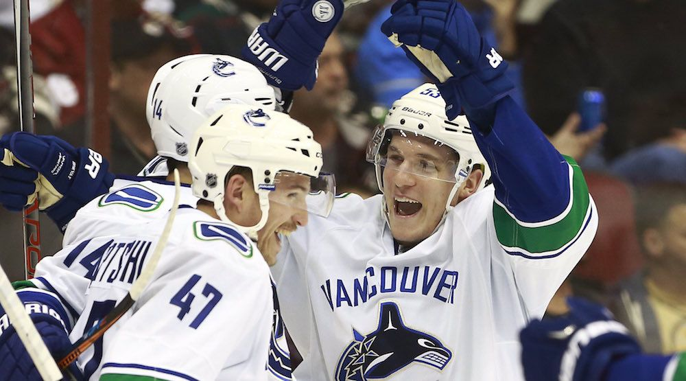 SixPack: Horvat's line leads Canucks to 4-1 win over Coyotes
