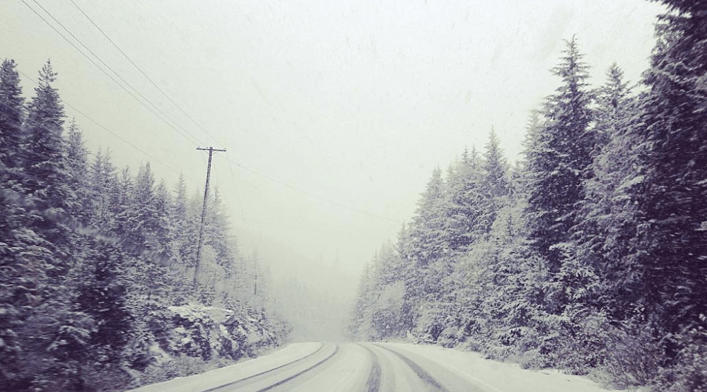 Snow is already in the forecast for parts of BC tonight