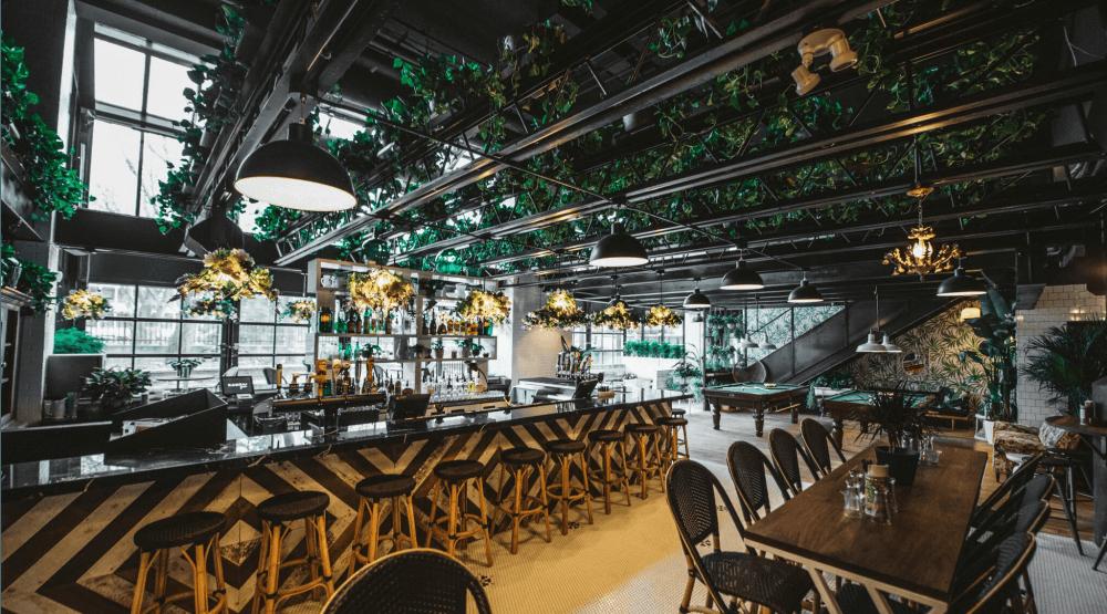 Montreal's First Chic Beer Garden is Now Open