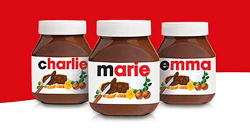 You can now get your name put on a Nutella jar in Toronto