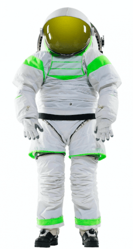 A Z series space suit will be featured in the Oncology unit's preparation room (BC Children's Hospital)