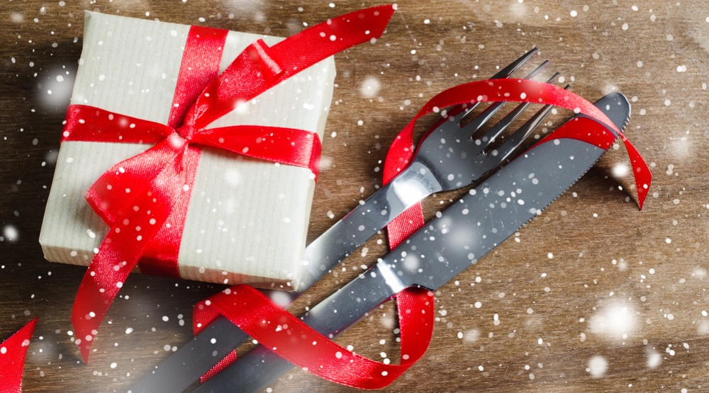 Holiday food gift shutterstock