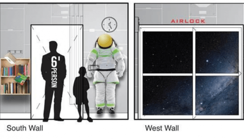 An artist's rendering of a preparation room at the Teck Acute Space Centre (BC Children's Hospital)